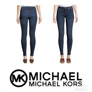 Michael Kors Izzy Skinny Jeans, Dark Wash